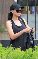 NAYA RIVERA Heading to a Gym in Los Angeles 04/19/2018
