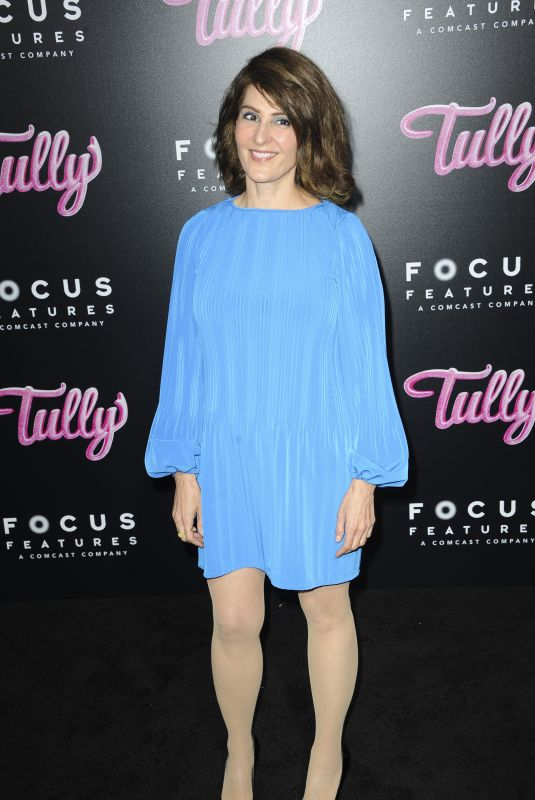 NIA VARDALOS at Tully Premiere in Los Angeles 04/18/2018