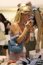 NICKY HILTON Out Shopping in Miami 04/22/2018
