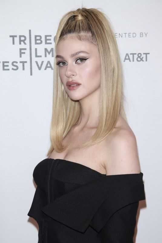 NICOLA PELTZ at Back Roads Premiere at Tribeca Film Festival in New York 04/20/2018