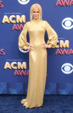 NICOLE KIDMAN at 2018 ACM Awards in Las Vegas 04/15/2018