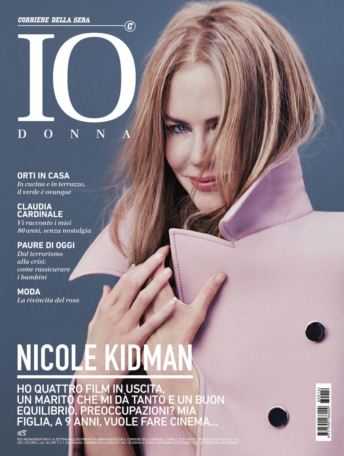 4ad9ade29c14 NICOLE KIDMAN in Io Donna Del Corriere Della Sera