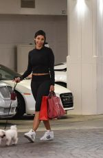 NICOLE MURPHY Out with Her Dog in Beverly Hills 03/31/2018