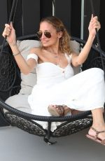 NICOLE RICHIE at Revolve x Nicole Richie House of Harlow x Urban Decay Lunch in Palm Springs 04/13/2018