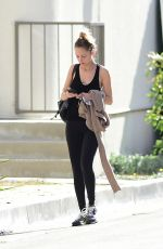 NICOLE RICHIE Heading to a Gym in Los Angeles 04/09/2018