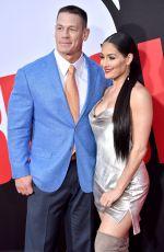 NIKKI BELLA and John Cena at Blockers Premiere in Los Angeles 04/03/2018