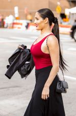 NIKKI BELLA at WWE Wrestlemania 34 Hall Of Fame 2018 in New Orleans 04/06/2018