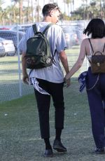NOAH CYRUS at Coachella Valley Music & Arts Festival in Palm Springs 04/14/2018