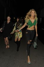 OLIVIA ATTWOOD at Libertine Nightclub in London 04/26/2018