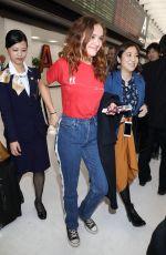 OLIVIA COOKE at Narita International Airport in Chiba 04/17/2018