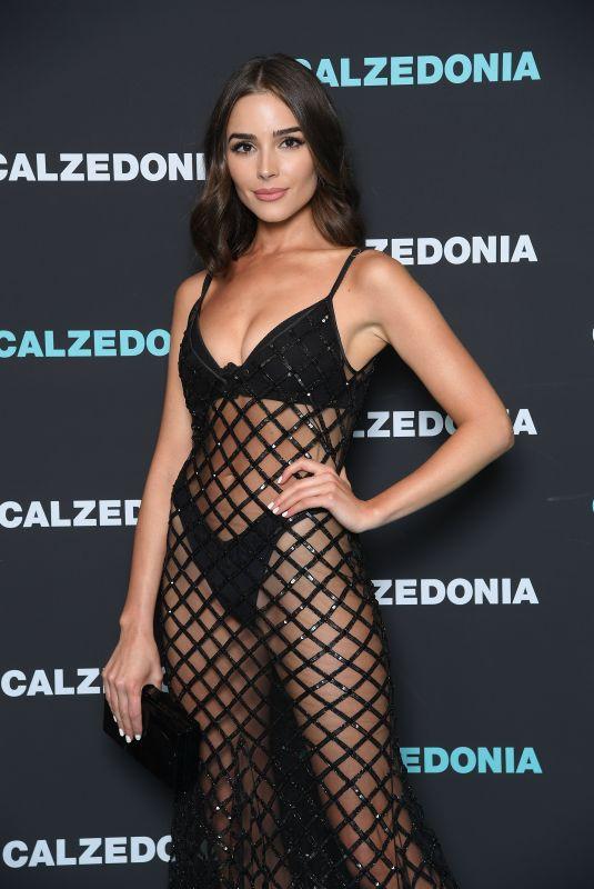OLIVIA CULPO at Calzedonia Summer Show in Verona 04/10/2018
