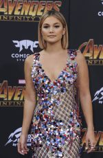 OLIVIA HOLT at Avengers: Infinity War Premiere in Los Angeles 04/23/2018