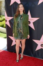 OLIVIA MUNN at Eva Longoria Hollywood Walk of Fame Ceremony in Los Angeles 04/16/2018