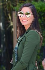 OLIVIA MUNN Out and About in Beverly Hills 04/16/2018