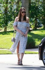 OLIVIA MUNN Out and About in Studio City 04/17/2018