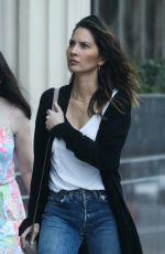 OLIVIA MUNN Out and About in Westwood 04/08/2018