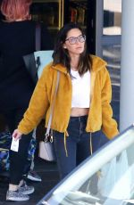 OLIVIA MUNN Out Shopping in Los Angeles 04/12/2018