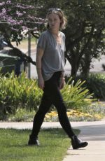 OLIVIA WILDE Leaves a Friends House in Los Angeles 04/04/2018