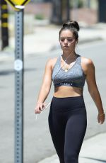 OLYMPIA VALANCE Out Hiking in Los Angeles 04/24/2018