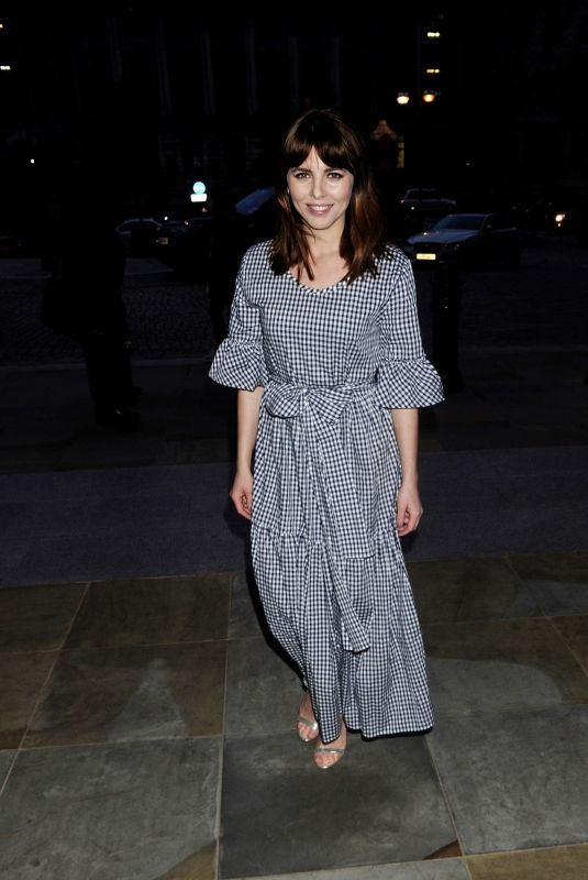 OPHELIA LOVIBOND at Marriott Rewards Party in London 04/17/2018