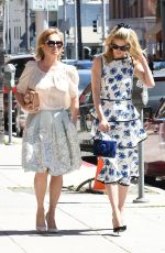 PARIS and NICKY HILTON with Mom Kathy Out in Beverly Hills 04/17/2018