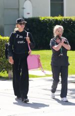 PARIS HILTON at Heather Nicole Skincare in Beverly Hills 04/10/2018