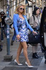PARIS HILTON Heading to Beauty Con in New York 04/22/2018