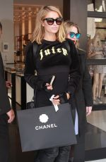 PARIS HILTON Shopping at Chanel Store in Beverly Hills 04/05/2018