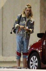 PARIS JACKSON at Nobu Restaurant in Malibu 04/17/2018