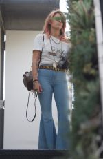 PARIS JACKSON in Flared Jeans Out in Los Angeles 04/06/2018