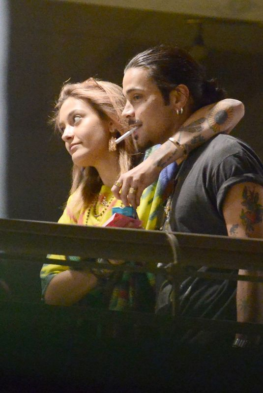 PARIS JACKSON Night Out in Los Angeles 04/10/2018