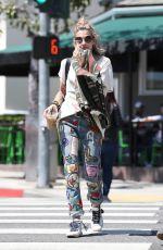 PARIS JACKSON Out in Los Angeles 04/20/2018