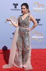 PATY CANTU at Billboard Latin Music Awards in Las Vegas 04/26/2018