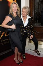 PENNY LANCASTER and Rod Stewart at Tina: The Tina Turner Musical in London 04/17/2018