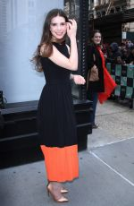PHILIPPA COULTHARD Arrives at Build Series in New York 04/05/2018