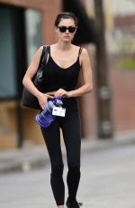 PHOEBE TONKIN Leaves a Gym in Los Angeles 04/19/2018