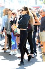PHOEBE TONKIN Shooping at Farmers Market in Studio City 04/08/2018