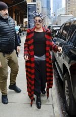 PINK Leaves Her Hotel in New York 04/04/2018