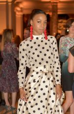PIPPA BENNETT-WARNER at Fashioned for Nature Exhibition VIP Preview in London 04/18/2018