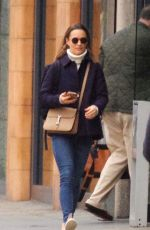 PIPPA MIDDLETON Out and About in London 04/13/2018