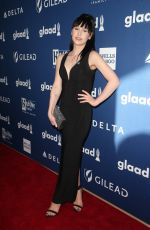PLASTIC MARTYR at Glaad Media Awards 2018 in Beverly Hills 04/18/2018