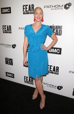 POLLYANNA MCINTOSH at FYC The Walking Dead and Fear the Walking Dead in Los Angeles 04/15/2018