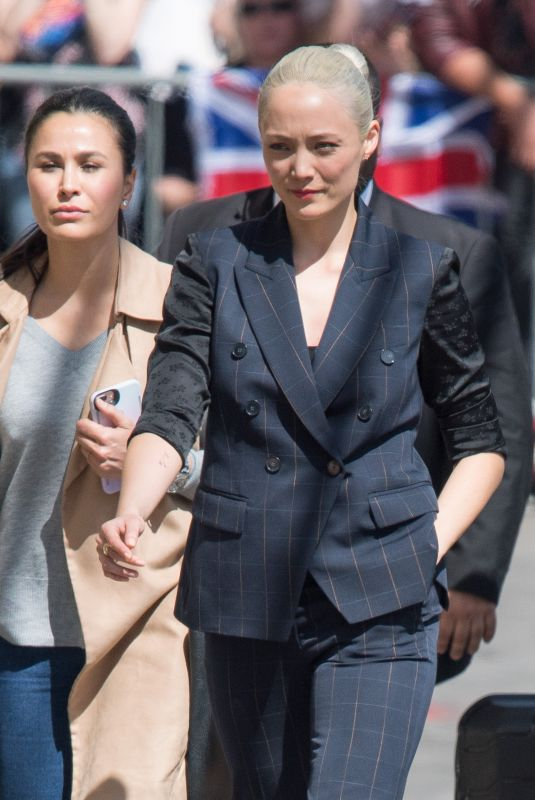 POM KLEMENTIEFF at Jimmy Kimmel Live in Los Angeles 04/23/2018