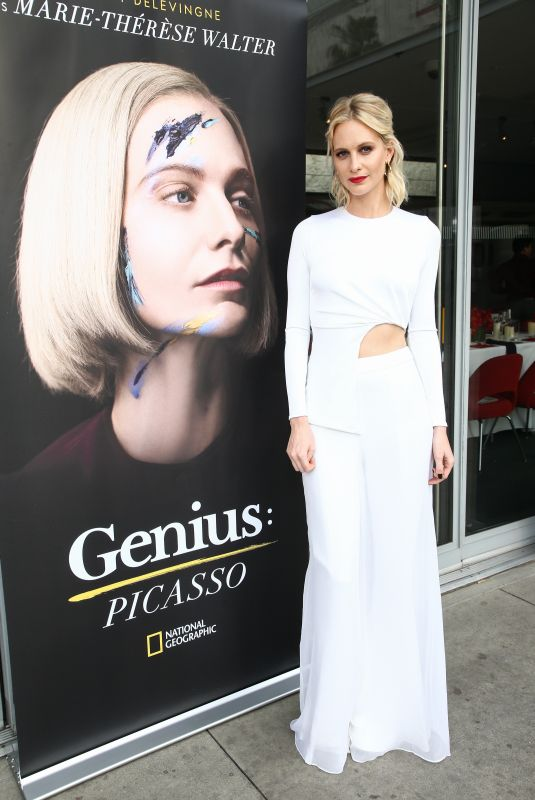 POPPY DELEVINGNE at Genius: Picasso Dinner and Conversation in Los Angeles 04/15/2018
