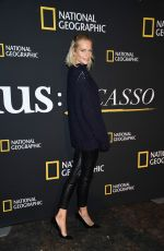 POPPY DELEVINGNE at Genius Picasso Photocall in New York 04/19/2018