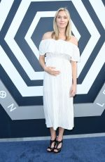 Pregnant JELLY HOWE at Legion Season 2 Premiere in Los Angeles 04/02/2018