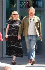 Pregnant KIRSTEN DUNST and Jesse Plemons Out in Hollywood 04/27/2018