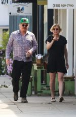 Pregnant KIRSTEN DUNST Out and About in Los Angeles 04/04/2018