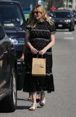 Pregnant KIRSTEN DUNST Out and About in Toluca Lake 04/03/2018