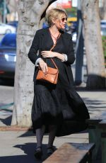 Pregnant KIRSTEN DUNST Out in Los Angeles 04/17/2018